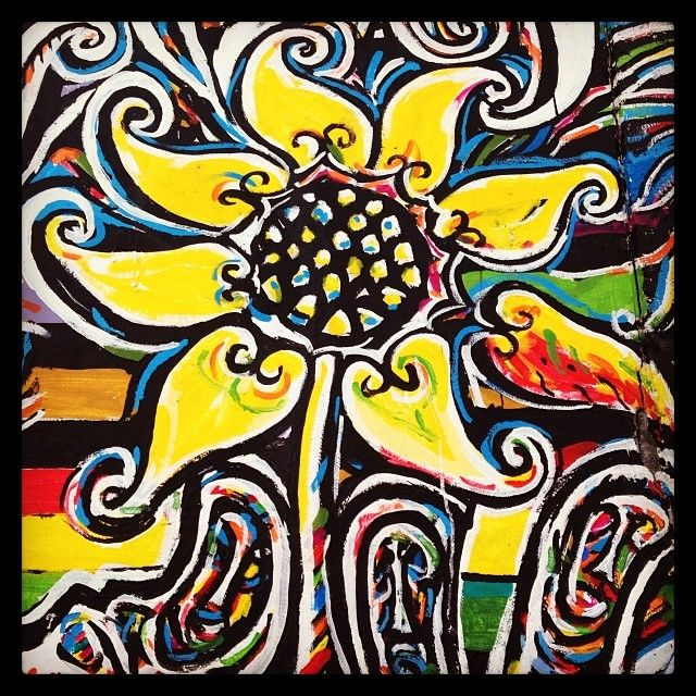 Girasol #sunflower #streetart #graffiti #wallart #berlin