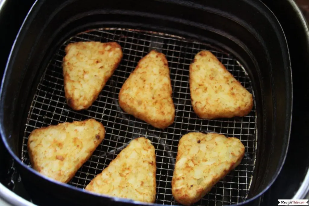 Air Fryer Frozen Hash Browns Recipe Hashbrown recipes