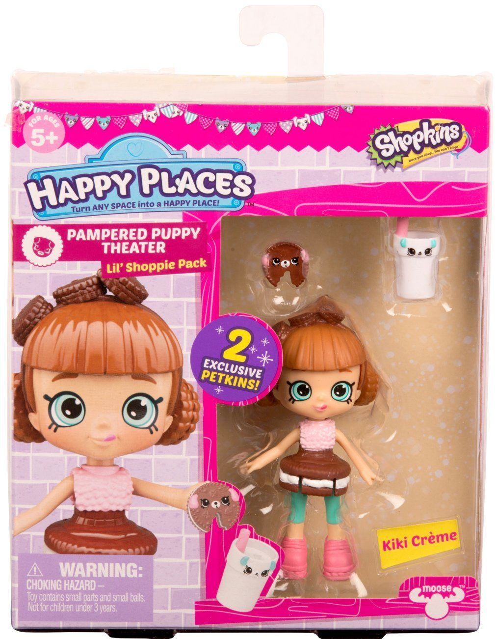 """Christmas """"2017"""" Happy Places Shopkins Doll Single Pack"""