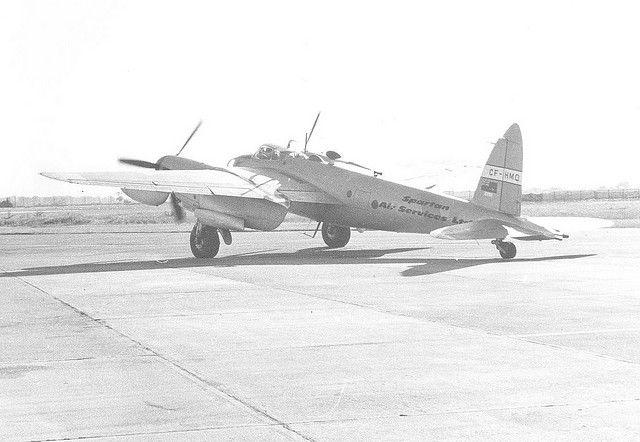 de Havilland Mosquito - Fort William Airport by Hugh Peden, via Flickr