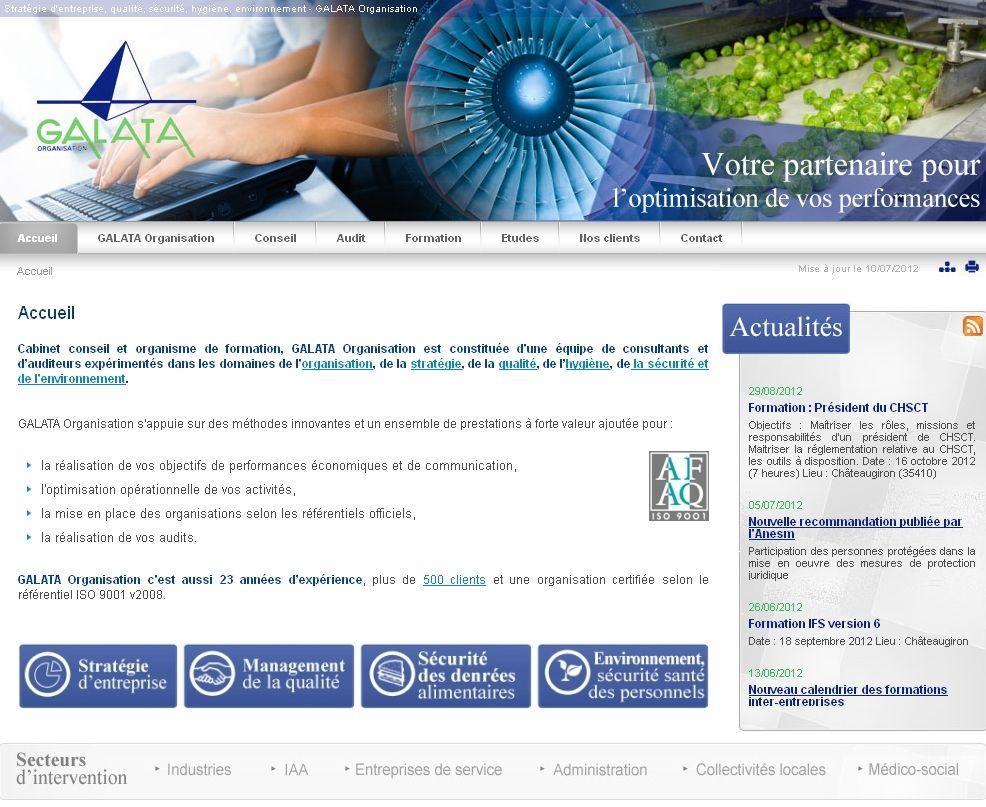 Galata Conseil Et Consulting En Management De La Qualite Organisme De Formation Organisation Conseil