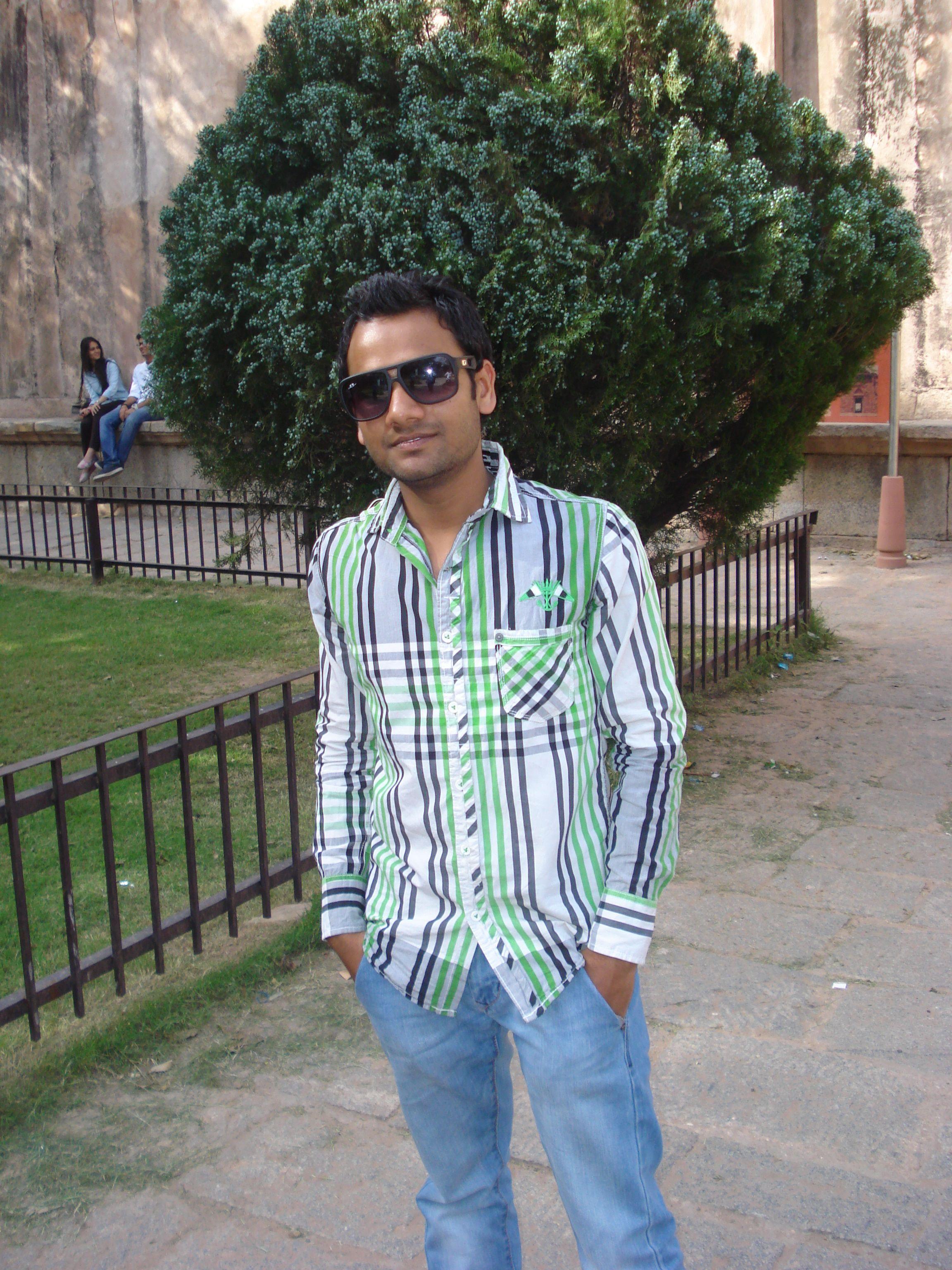 Himanshu Maheshwari is My Name. Risk is my Game Fashion