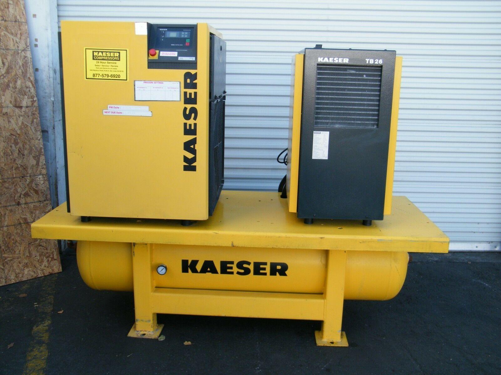 Kaeser Compressor in 2020 Air compressor tank, Air