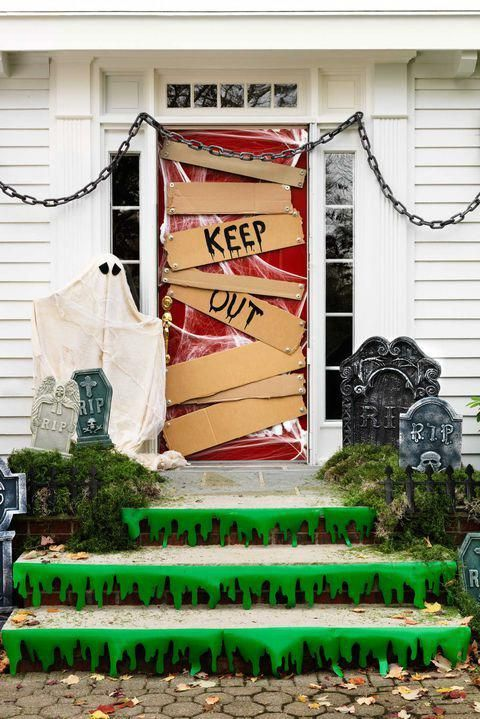 40 Easy Halloween Decorations - Spooky Home Decor Ideas for