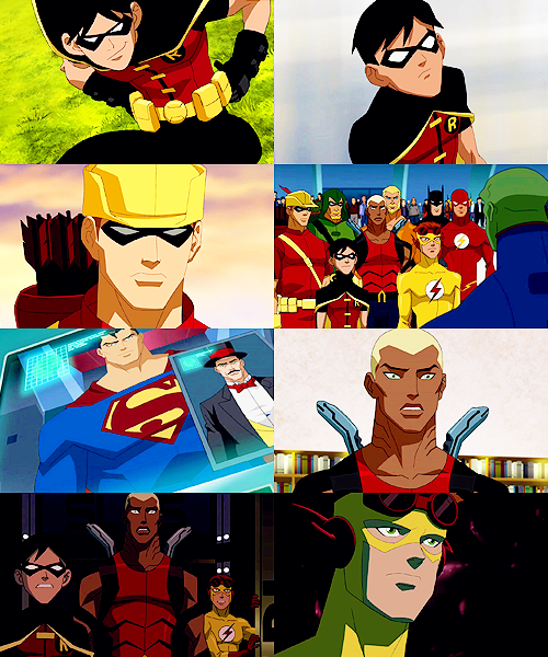 young justice: eight caps + independence day