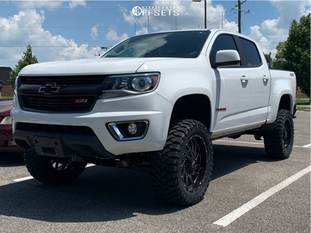 2018 Chevrolet Colorado Hardrock Crusher H704 20x9 0 Comforser