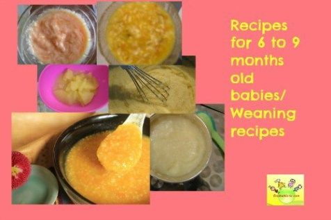 Baby recipes 6 to 9 months old shishuworld blog pinterest baby wholesome baby food recipes 6 to 9 months baby recipes weaning food for months old baby no salt no sugar recipes for baby indian baby food forumfinder Gallery