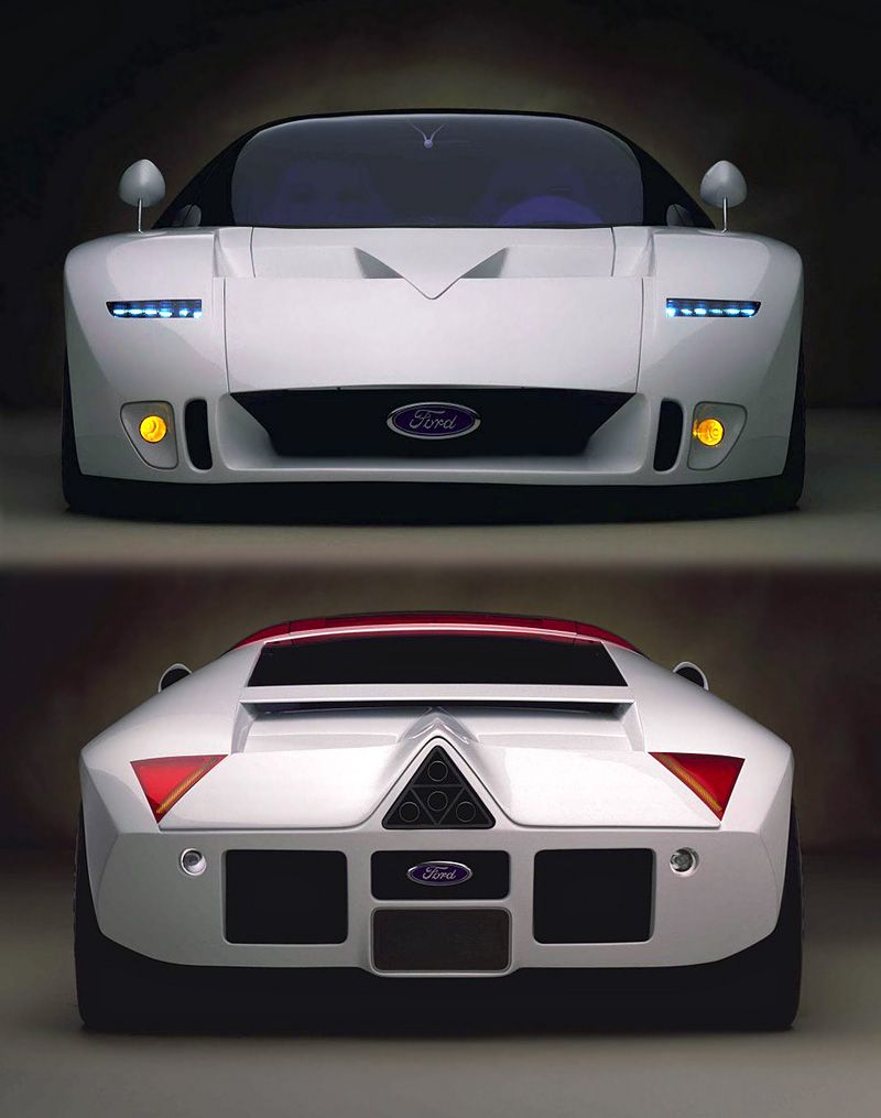 1995 Ford Gt90 Concept God Bless America Ford Gt Unique Cars