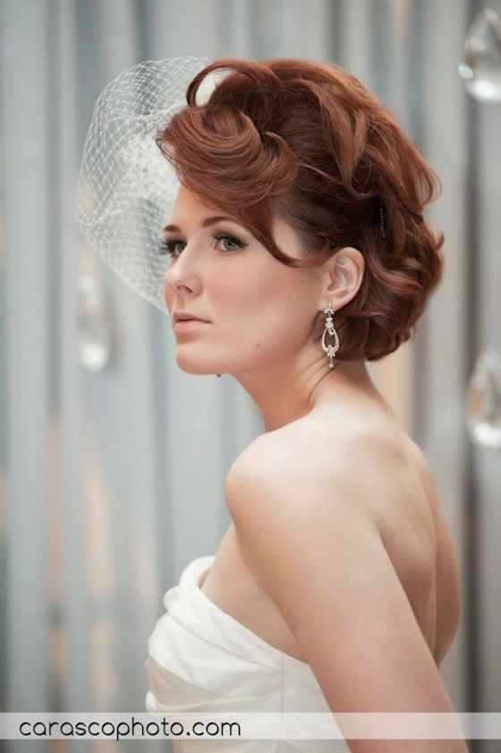 a short wedding hairstyle by robyn tornabeni chicago