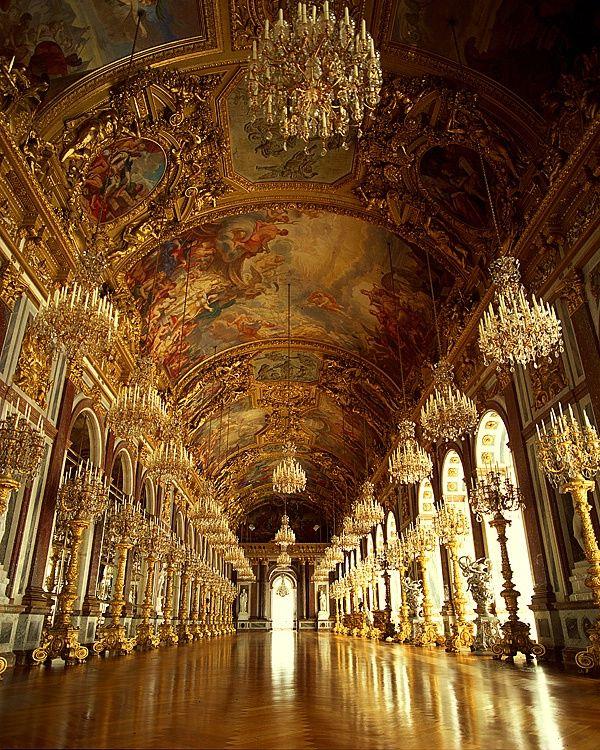 hall of mirrors in herrenchiemsee palace bayern deutschland bayern pinterest neuer. Black Bedroom Furniture Sets. Home Design Ideas