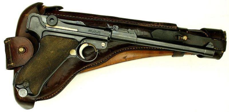"""The Luger P08 pistol"""