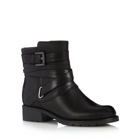 Clarks Black leather 'Orinoco Sash