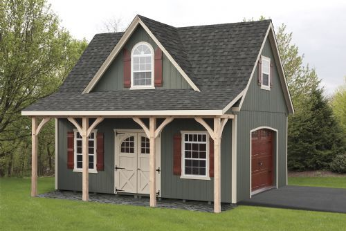 18' x 22' Boston - Windsor   Ideas for Bungalow   Two story garage