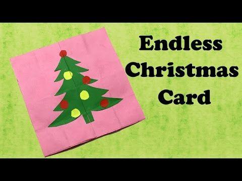 Endless Christmas Card Christmas Greetings Never Ending Card Greeting Cards Endless Love You Christmas Tree Cards Christmas Cards Christmas Greetings