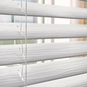 Better Homes and Gardens 2 Faux Wood Blinds White Formerly