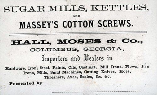 Vintage business card...importers and dealers...
