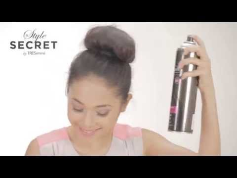 Tresemme Tutorial 2 Minutes Hair Do Messy Top Bun Youtube Video By Tresemme Indonesia Stylesecret Gaya Rambut Rambut