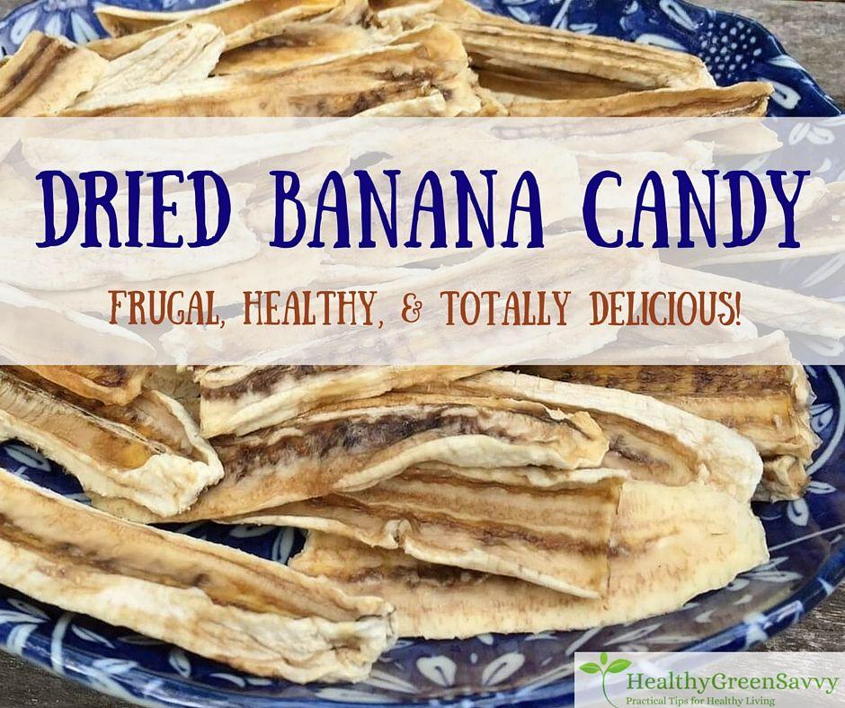 "Dried Bananas ""Taffy"" Recipe Dried bananas, Dehydrated"