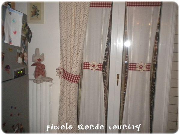 cucine country » tende cucine country - ispirazioni design dell ... - Tende Stile Country Per Cucina