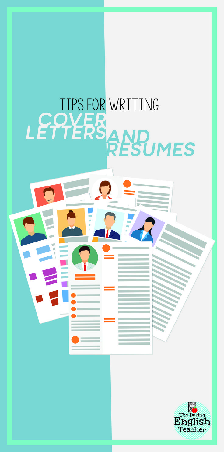 Teaching Students Cover Letter And Resume Writing  Interview Skills