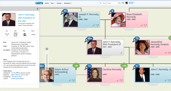 Introducing Our New Html Tree On Geni Genealogy Familyhistory Family History Genealogy History