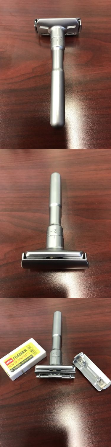 Mens Razors Safety Razor Merkur Futur Adj. Safety Razor
