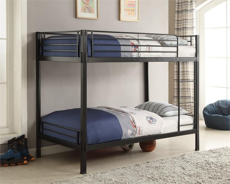 Coaster Boltzero Twin Over Twin Bunk Bed Las Vegas Furniture Online