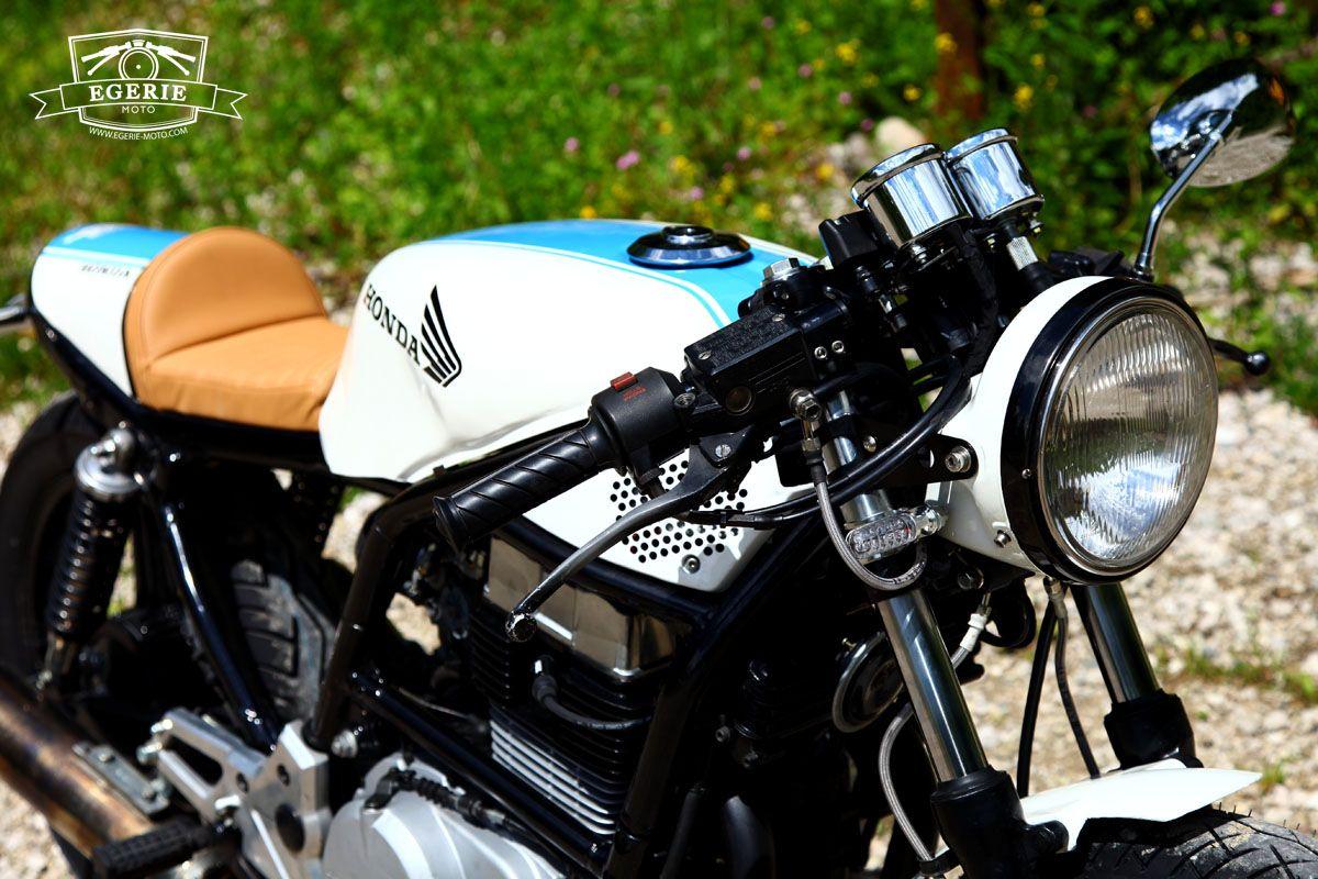 Honda CB 450 S 1986 - prépa café racer - EGERIE MOTO
