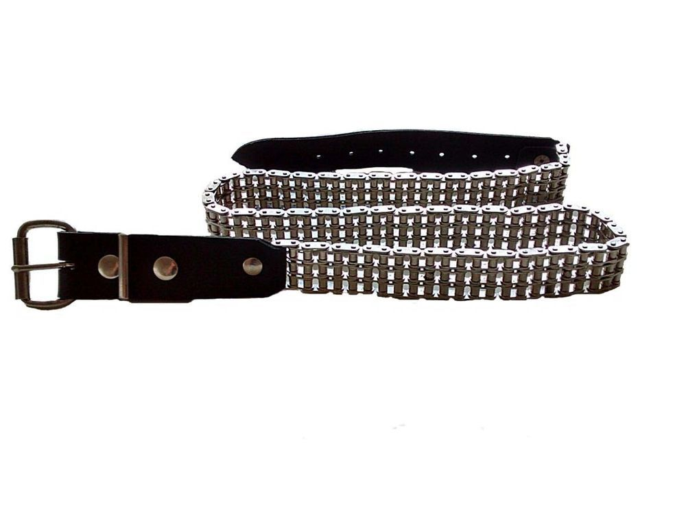 Triplex Three Row Bike Chain Belt Uber Cool With Images Mens