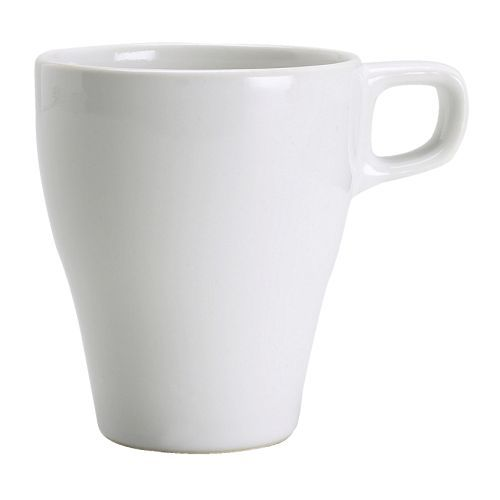 FÄRGRIK Mug, stoneware white IKEA | Mugs, Coffee maker
