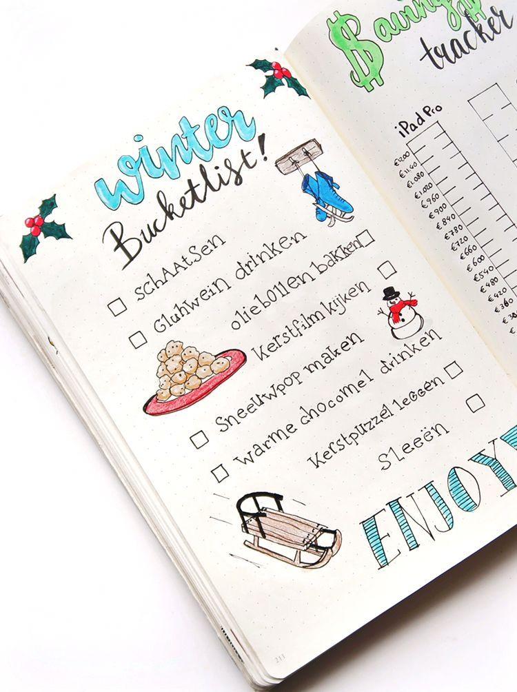 My Winter Bucket list #fallbucketlist