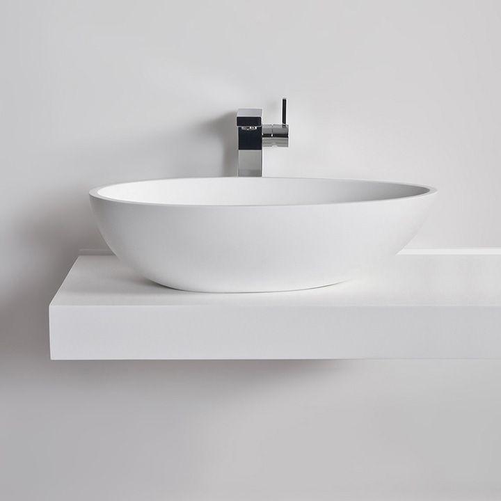 Vasque /à poser en Solid Surface COCOON 60