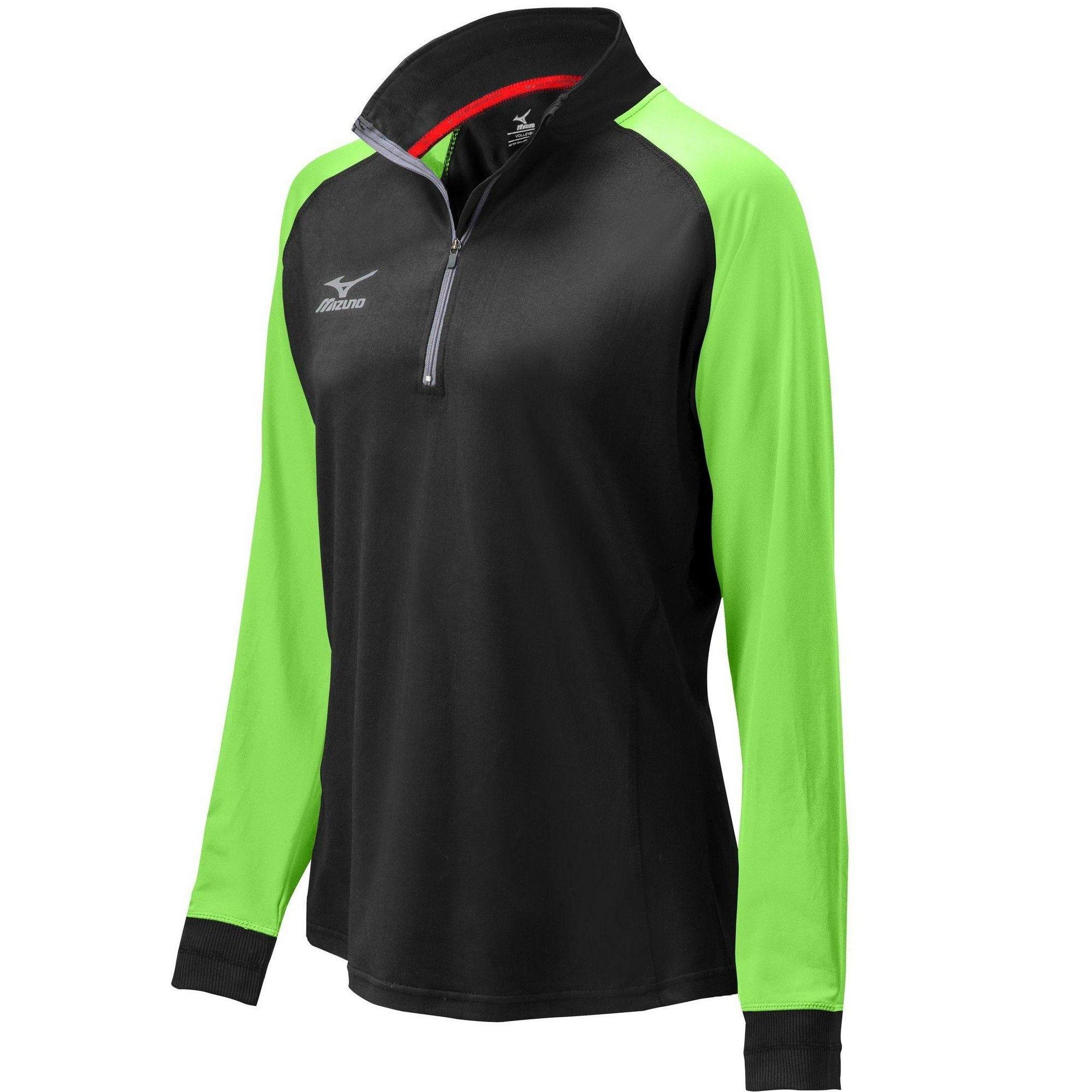 Mizuno WarmaLite Long Sleeve Running Top Small Green