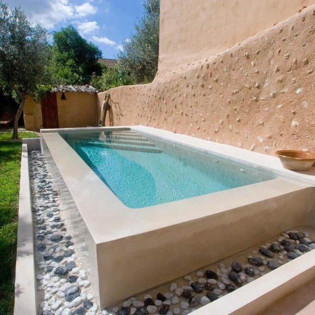 Piscines et bassins Small pools, Swimming pool designs