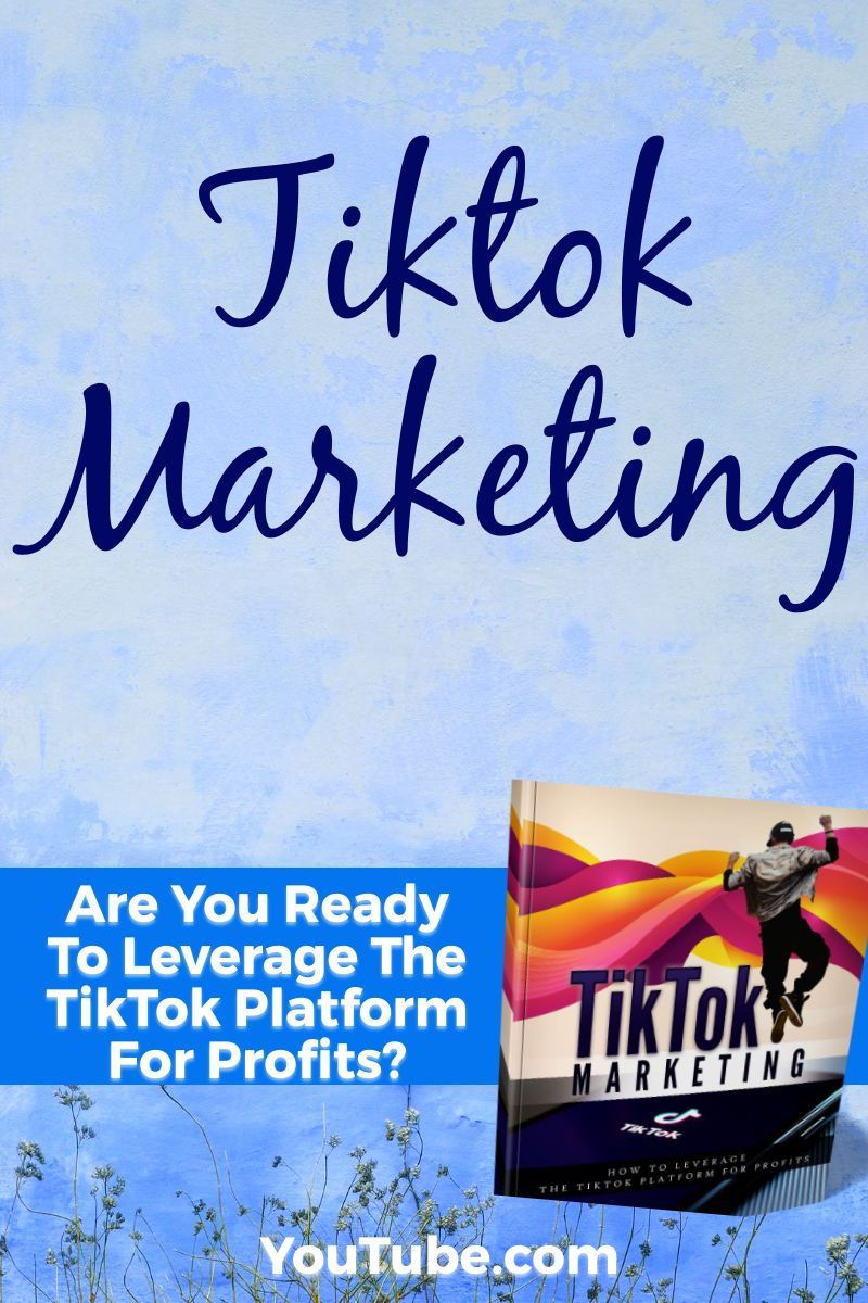 Tik Tok Marketing Ebook And Pdf Pack Available Here Ebook Marketing Social Media Marketing Business Marketing Strategy Social Media