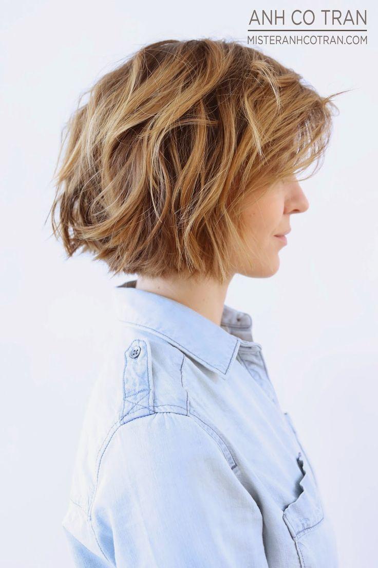 12 Gestufte Mittellange Frisuren Die Du Mal Probieren Solltest
