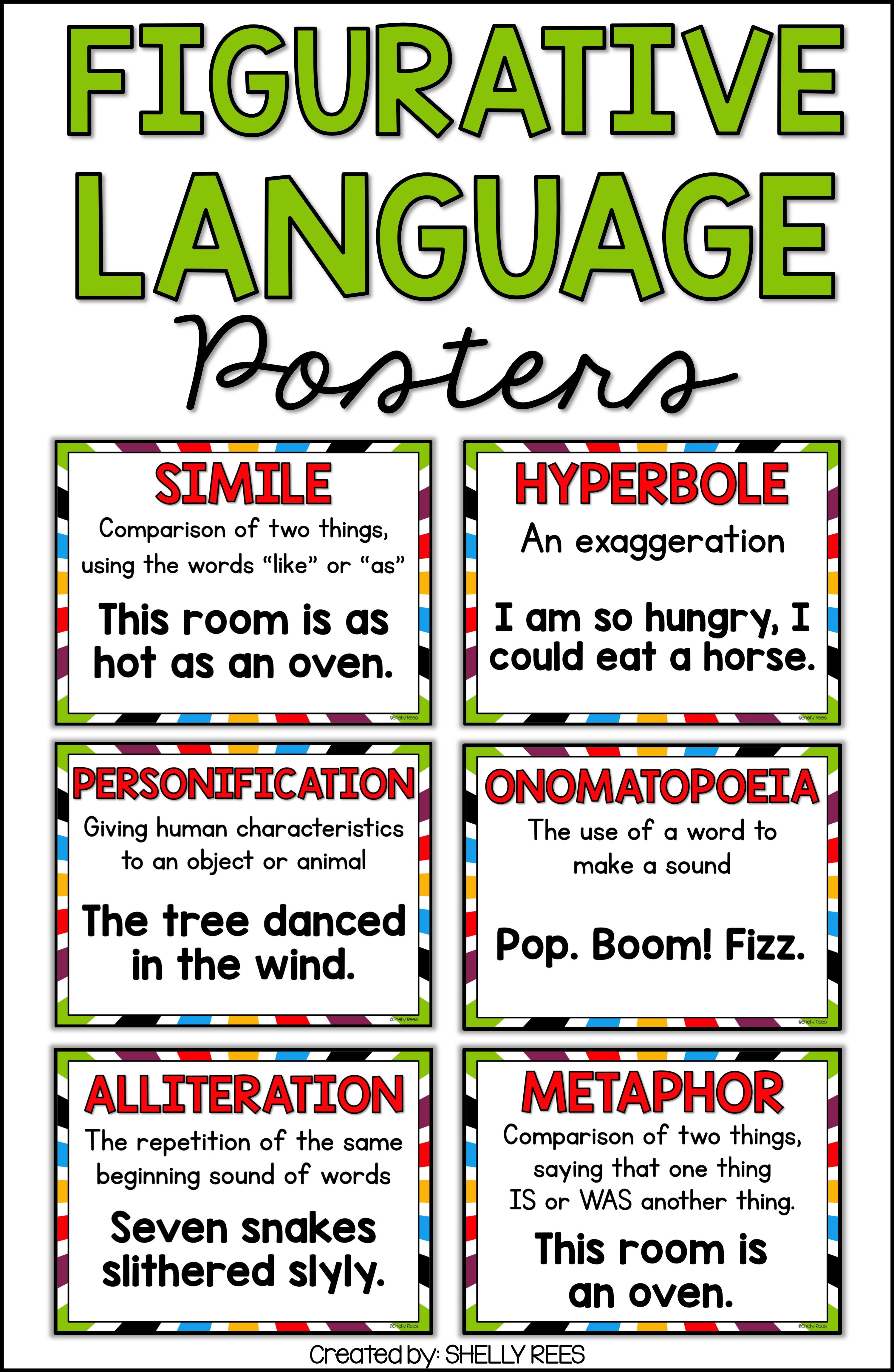 Figurative Language Activities Pinterest Alliteration Classroom