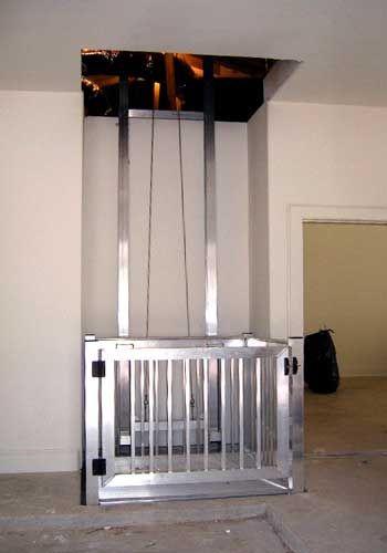 Custom Cargo Lift Design Build Garage Attic Attic