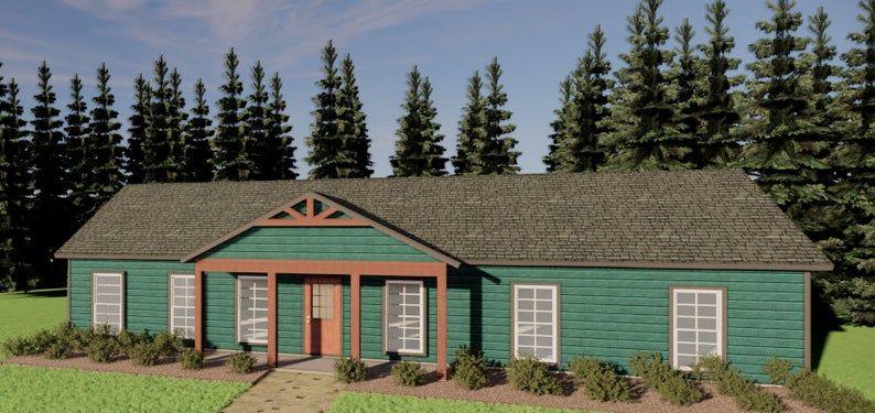60 x30 4 Bedroom House Plans