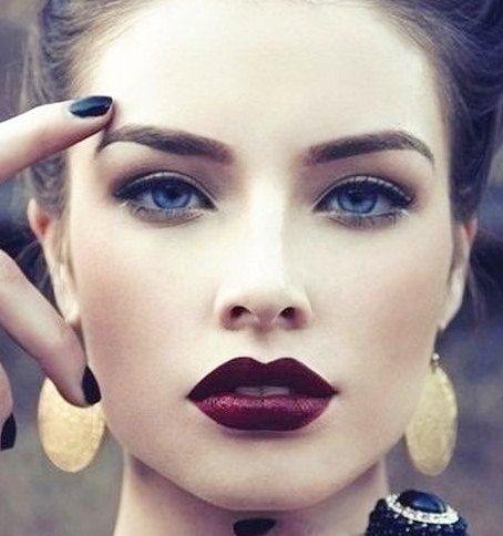21eaea539 maquillaje realizado con colores tendencia para este otoño/invierno 2015