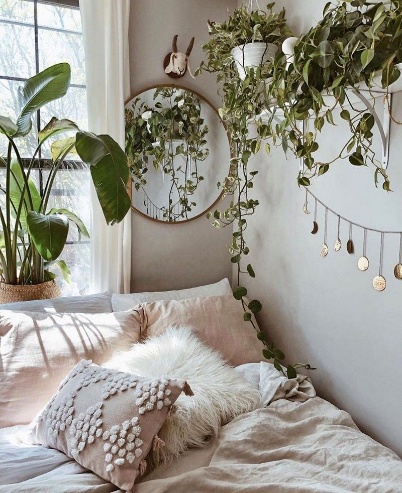 Bohemian Bedroom And Bedding Design #bohemianbedrooms