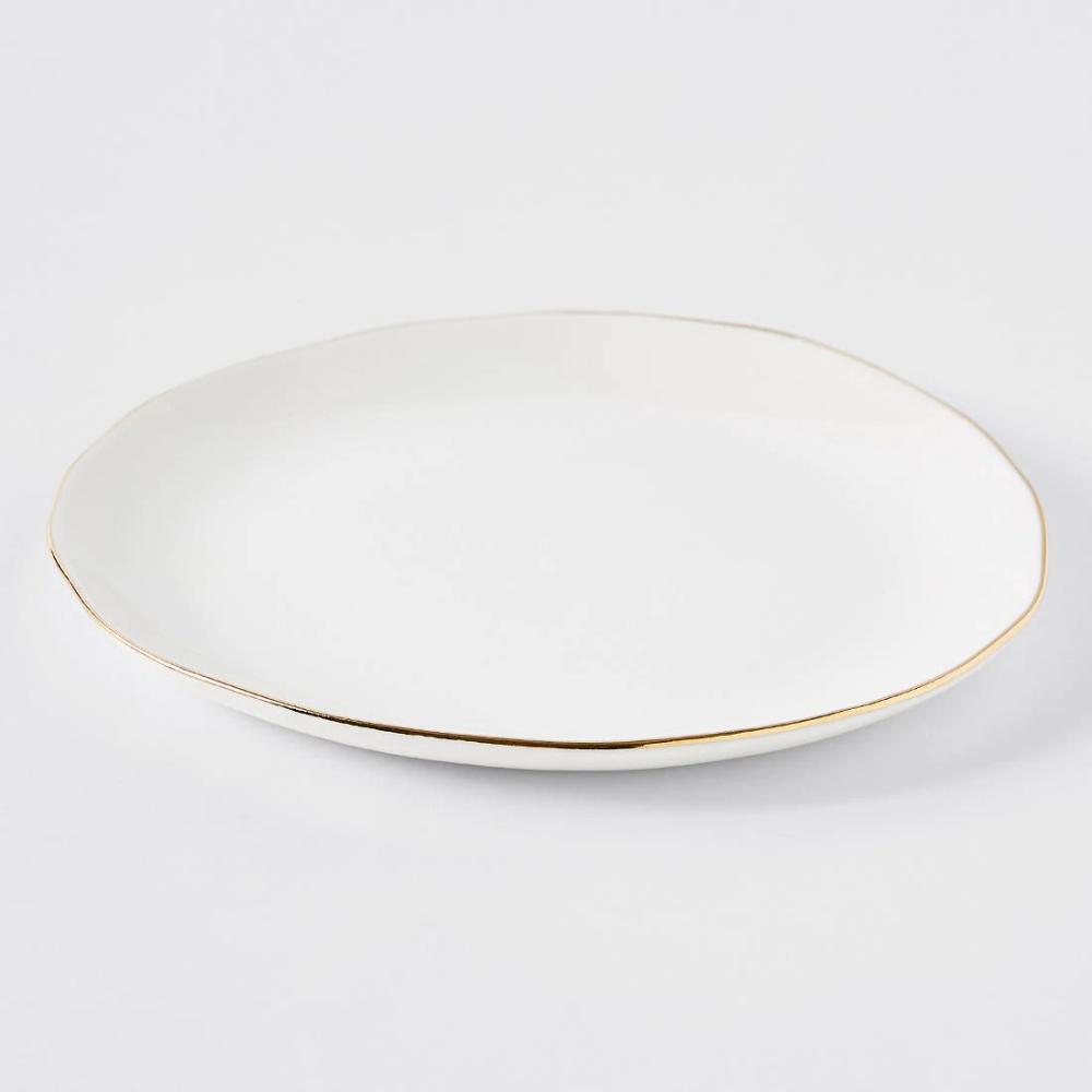 Gold Rim Side Plate Gold Rims Plates Side Plates