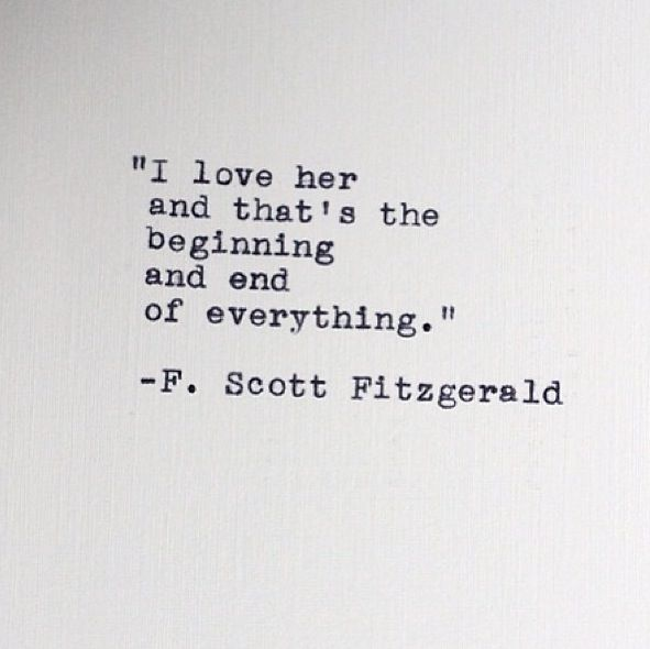 F Scott Fitzgerald Love Quotes Unique Pinpatricia Shearouse On F Scott Fitzgerald  Pinterest  Scott