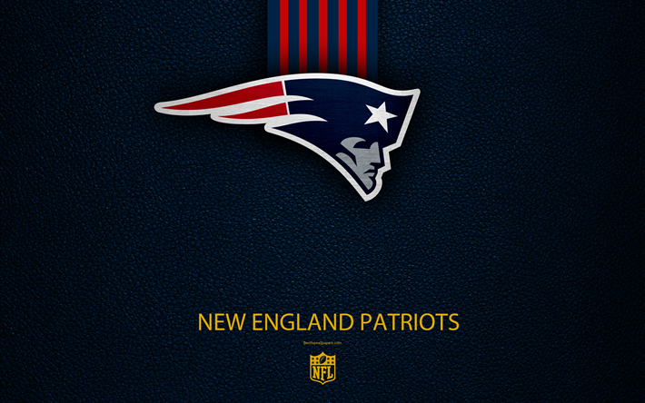 Download wallpapers New England Patriots, 4k, american