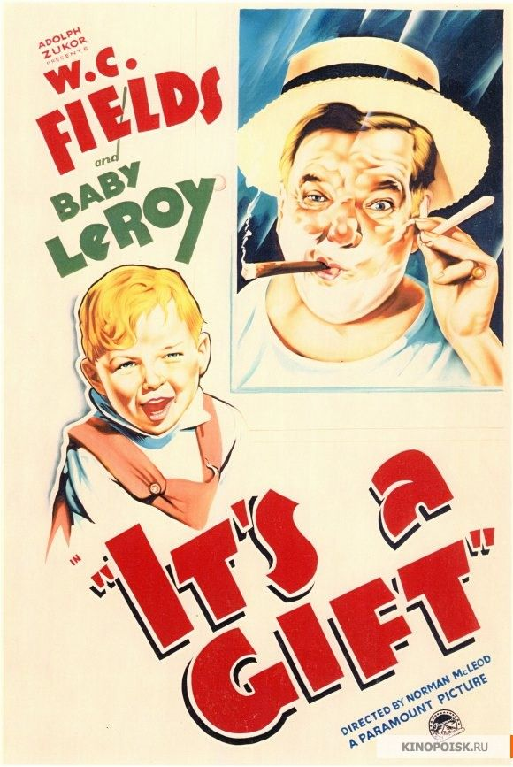 W C Fields It S A Gift Classic Films Posters Best Movie Posters Classic Movie Posters