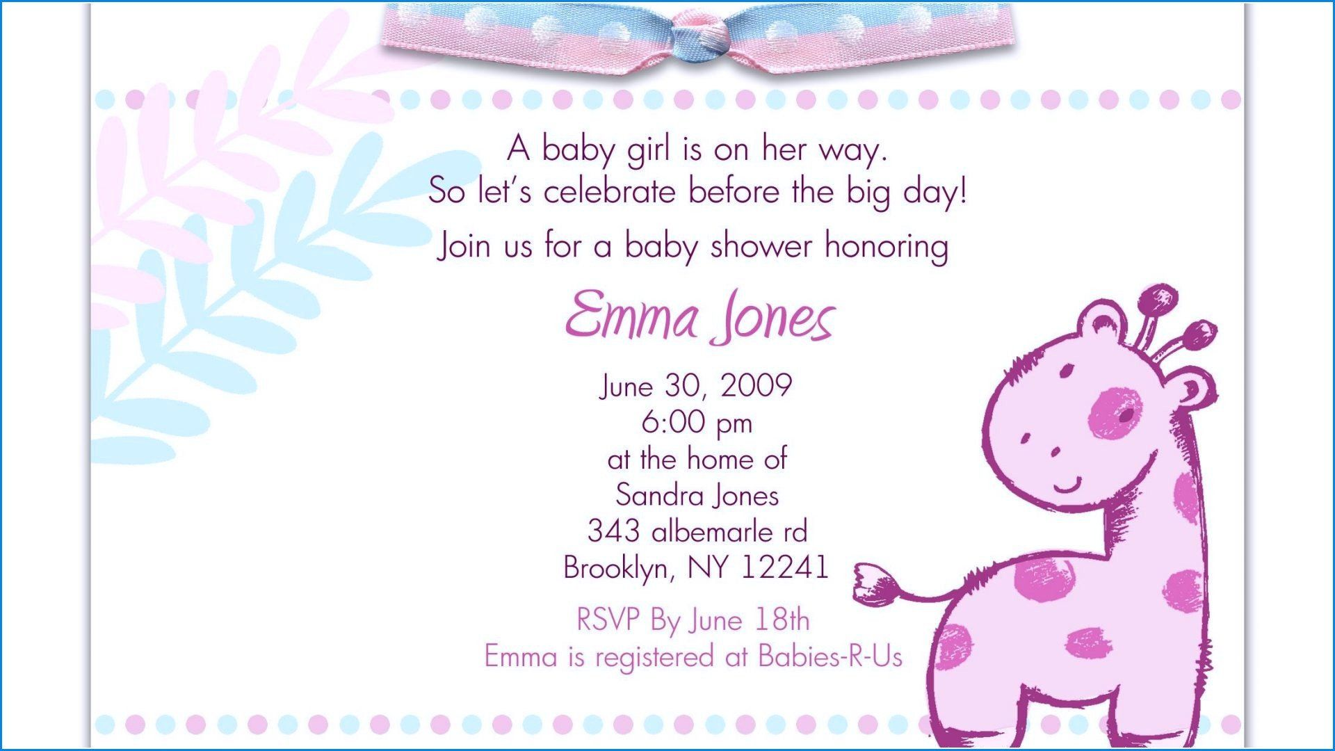 Baby Shower Invitation Wording Boy Funny Baby Shower