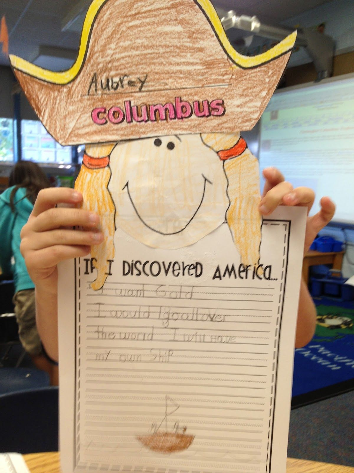 A Columbus Day Cute Writing Activity They Turned Out
