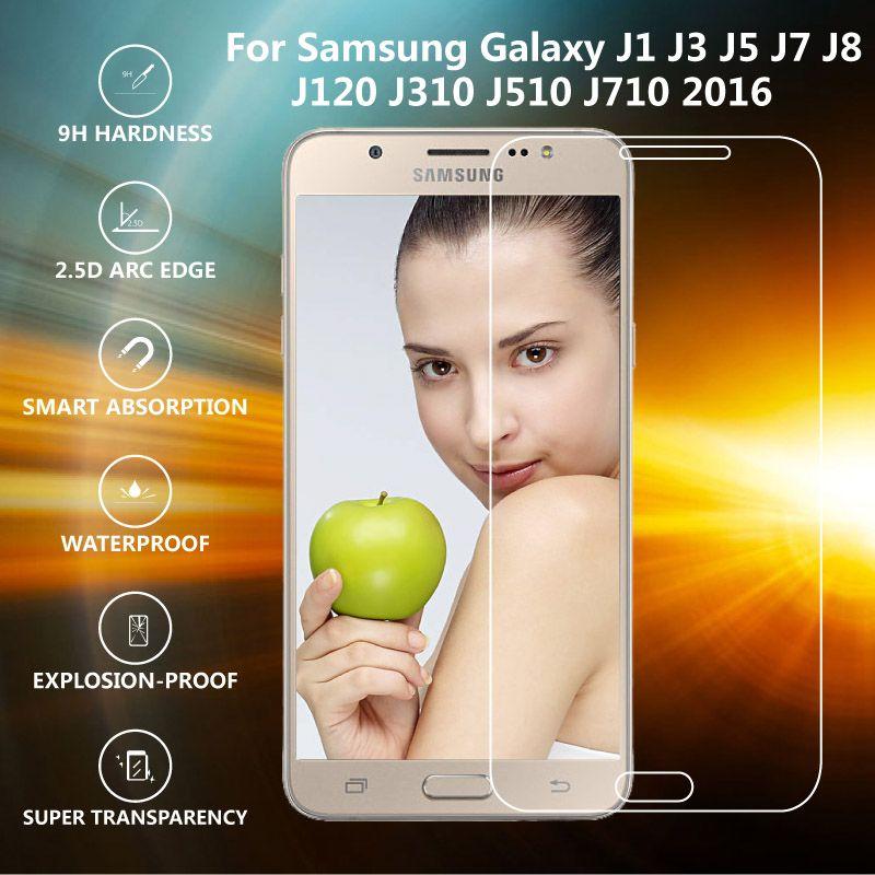Original IST Premium 9H 2.5D Tempered Glass For Samsung Galaxy J1 J3 J5 J7 J120 J310 J510 J710 2016 Screen Protector Film [Affiliate]