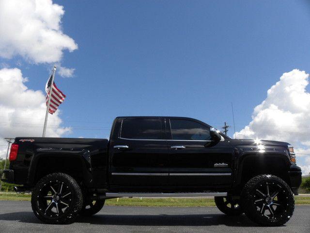 2015 Chevrolet Silverado 1500 Custom Lifted High Country 4x4 Crewcab Tampa Florida Bayshore Automotive Trucks Lifted Chevy Trucks Lifted Trucks