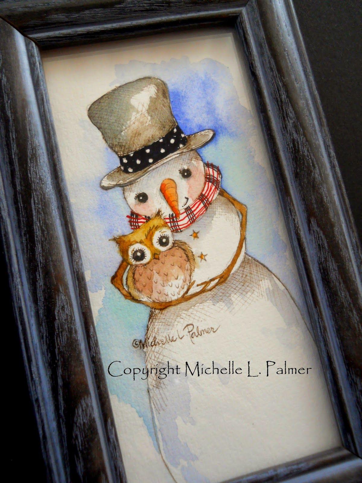 winter watercolors lustige weihnachtsbilder lustige. Black Bedroom Furniture Sets. Home Design Ideas